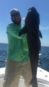 Catch some monstrous catfish with Bout Time Charters