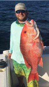 Come catch some Red Snapper in the Gulf with Bout Time Charters